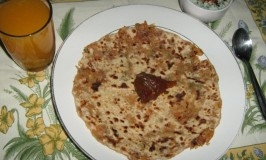 Onion Besan Paratha