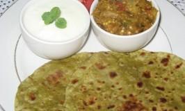 recipes-indian-bread-pudina-paratha