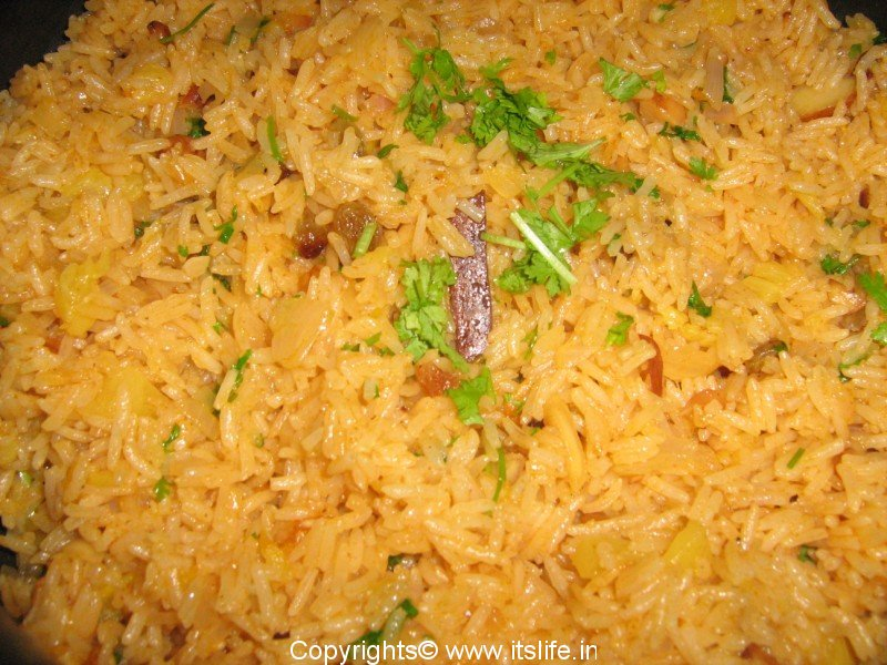 Fruity Pulao is Dil Kush Pulao