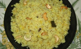 Huggi – Ven Pongal Recipe – Khara Pongal – Khichdi