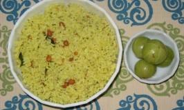 Nellikayi Chitranna – Gooseberry Rice – Puli Rice