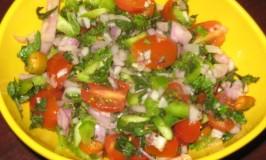 Mint and Cherry Tomato Salad