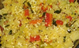 Cabbage Carrot Palya
