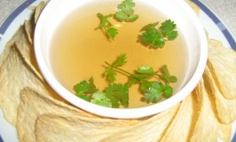 Coriander Clear Soup