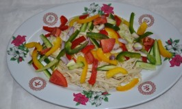 Noodle Peanut Salad