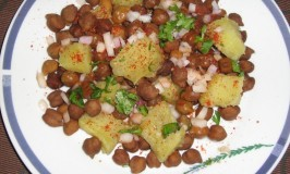 Sweet Potato and Channa Chaat