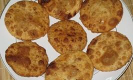 Sajjappa – Coconut and Jaggery stuffed sweet dish