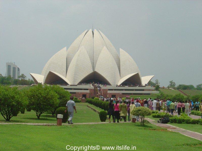 Lotus Temple New Delhi Tourism Bahai House Of Worship