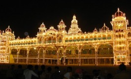 Dasara Procession and Torch Light Parade during the reign of the Wodeyars