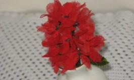 Organdi Flower Making