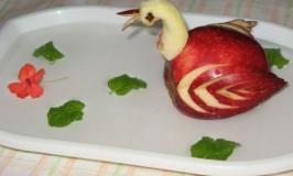 Apple Swan