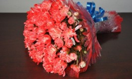 Chrysanthemum and Carnation bouquet