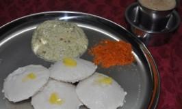 Mallige Idli – Soft Steamed Rice Cake