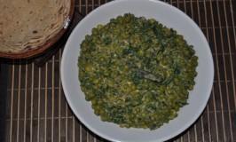 Palak Mutter Subzi – Spinach and Peas Side Dish – Palak Matar Subzi