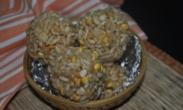 Puri Unde – Puffed Rice Laddoo