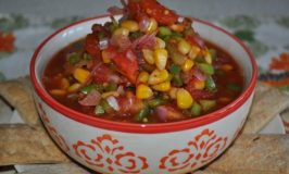 Pepper, Tomato, Corn Relish