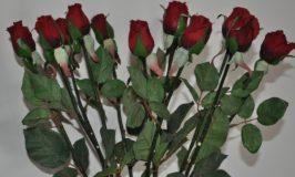 Artificial Rose Buds Arrangement