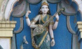 Saraswathi Pooja during Dasara