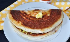 Chitranna Dosa – Pancakes with Lemon Rice
