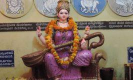 Saraswathi Pooja during Dasara – Navratri