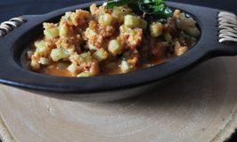 Cucumber Hasi Gojju – Sweet and Sour Cucumber Salad