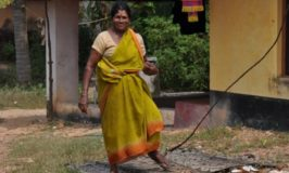 Lady in Udupi district